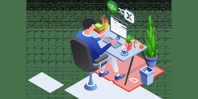 Customer using procurementexpress on their desktop